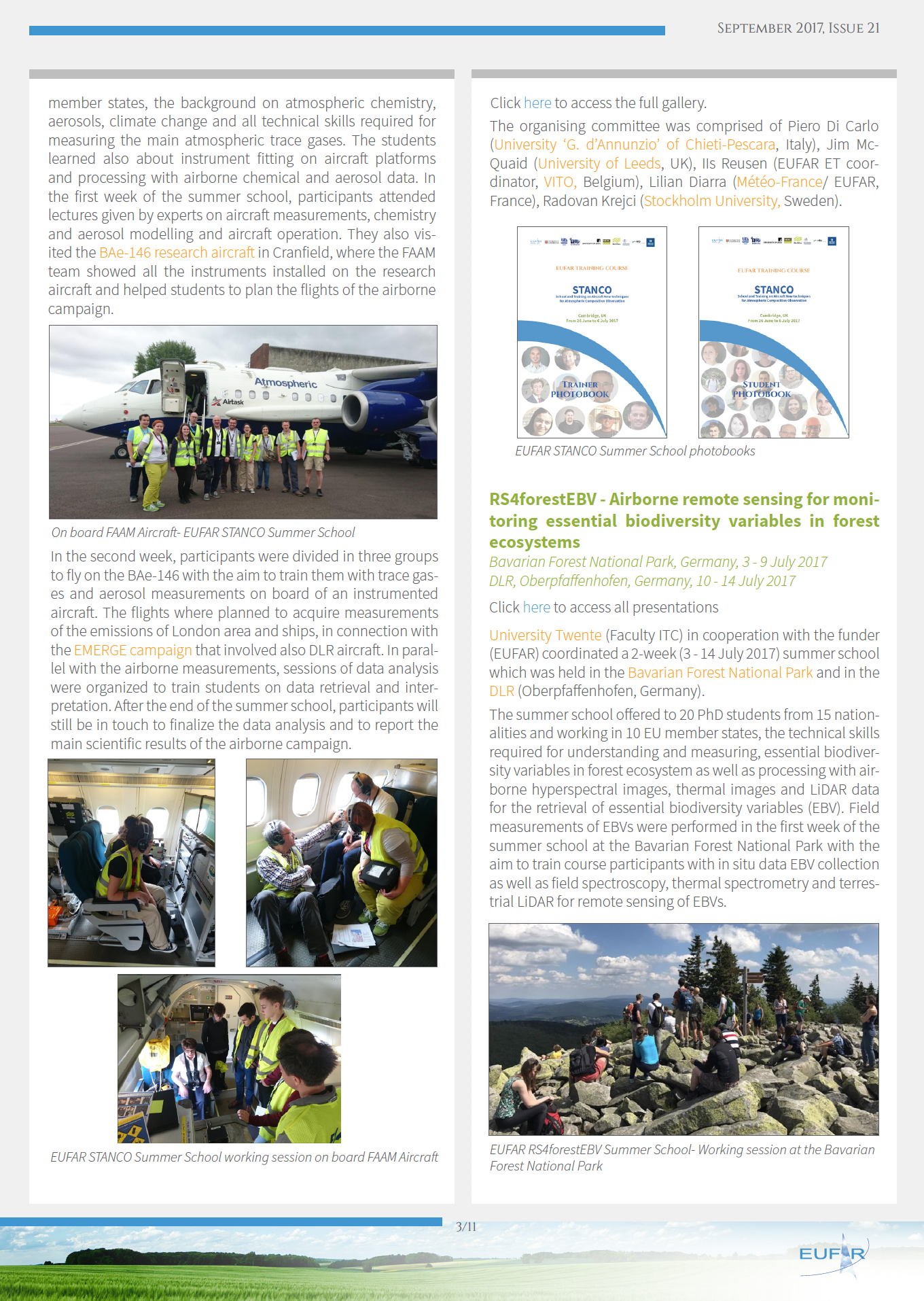 EUFAR- European Facility for Airborne Research – Shakers Makers